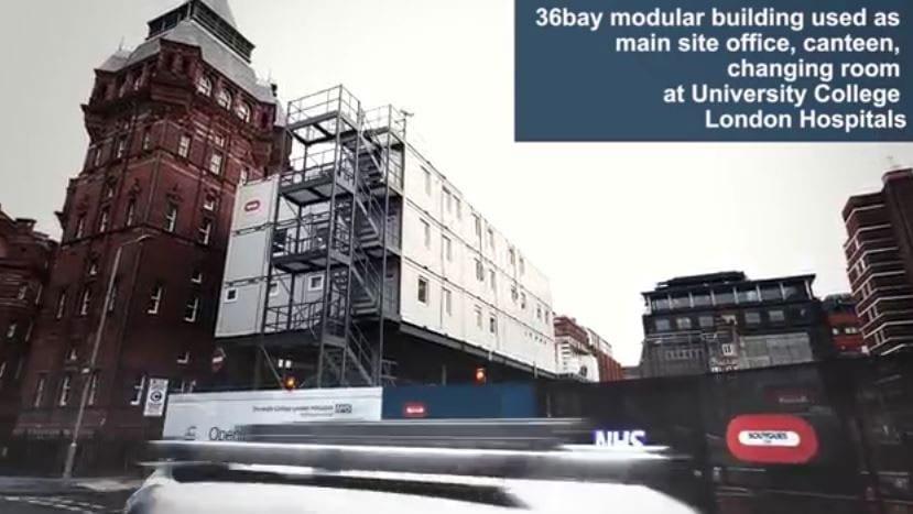 36 Bay Modular Building