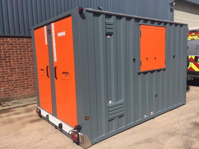 Mobile Welfare Portable Building