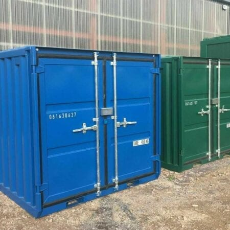 New 6ft X 6ft Shipping Container