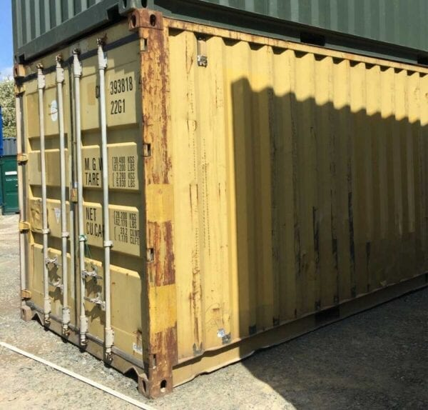 20ft X 8ft Shipping Container Used