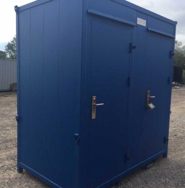 Double Portable Toilet
