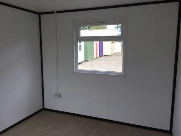 New 12ft X 10ft Jackleg Office Inside