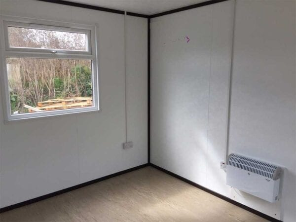 New 12ft X 10ft Jackleg Office Interior