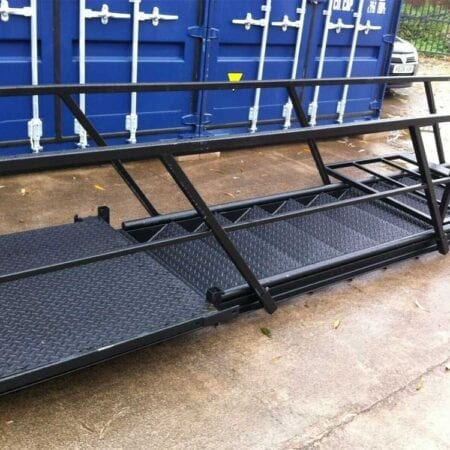 New 13 Tread Steel Staircase