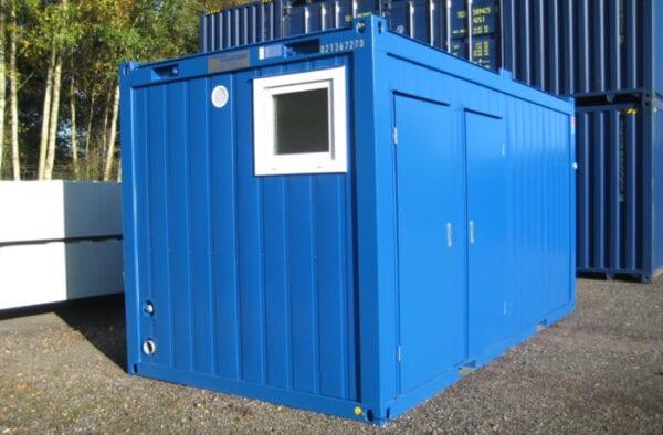 New 16ft Containex Toilet Block