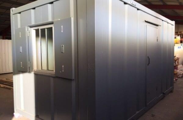 New 16ft X 8ft Steel Anti Vandal Office