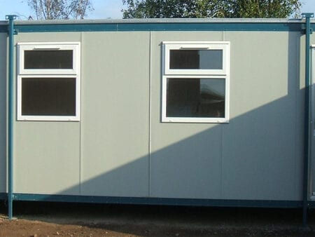 New 24ft X 10ft Jackleg Office