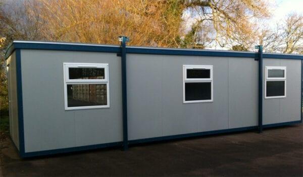 New 32ft X 10ft Jackleg Office
