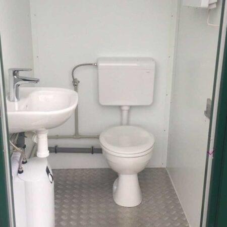 New Mains Portable Toilet