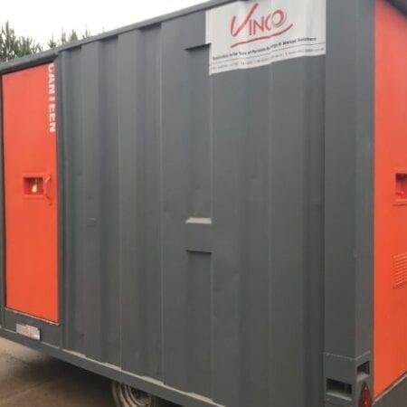 Refurbished 12ft X 8ft Mobile Welfare Unit