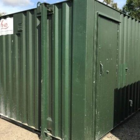 Used 12ft X 9ft Jackleg Cabin Toilet