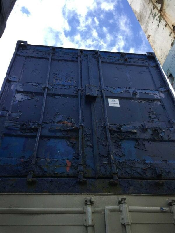 Used 20ft X 8ft Shipping Container Doors