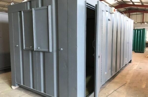Used 20ft x 8ft AV Office & Store