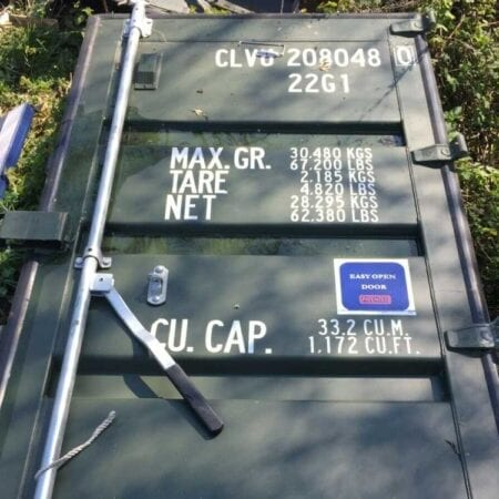 Used Shipping Container Doors
